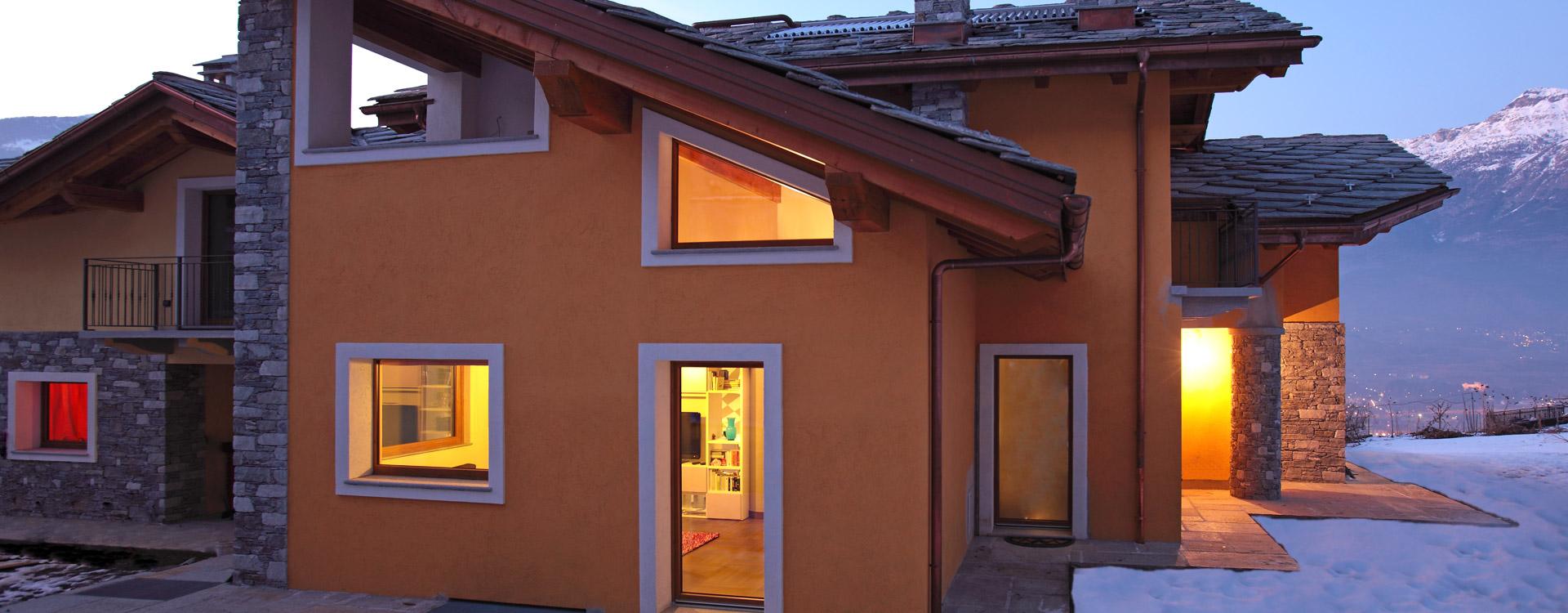 Una casa elegante