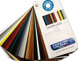 Numerose soluzioni cromatiche e stilistiche